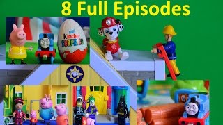 Full Kids Cartoon Toy Episodes Peppa Pig Fireman Sam Paw Patrol Batman WOW