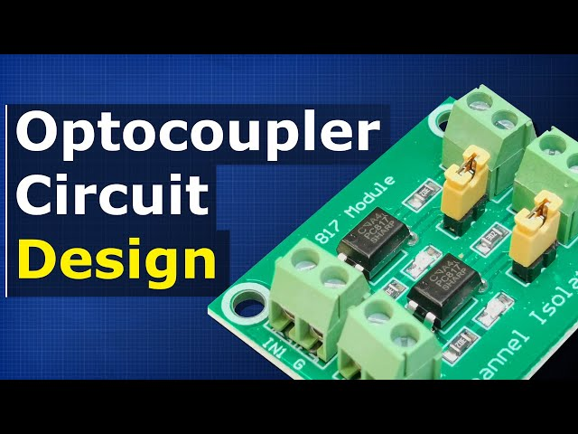 How Optocouplers work - opto-isolator solid state relays phototransistor