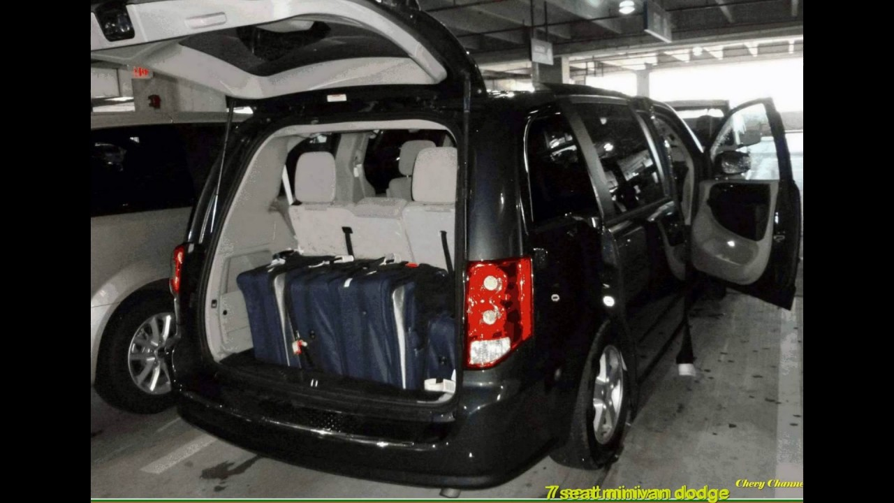 7 seat minivan dodge grand caravan alamo - YouTube