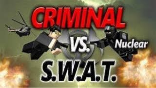 SWAT VS MALING kawai I roblox indonesia