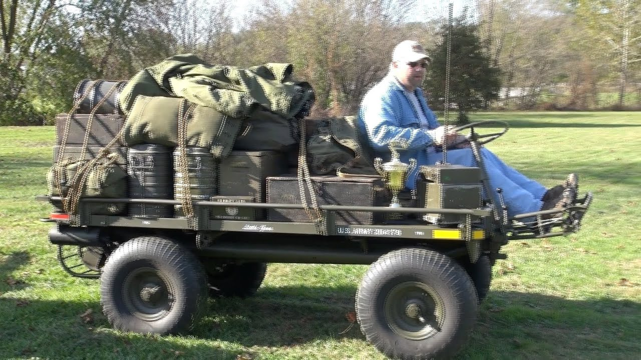 Willys M274 Mule Youtube