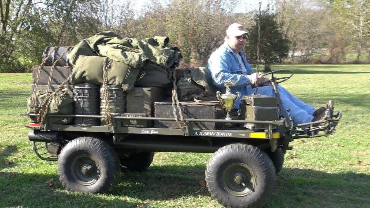 Willys M274 Mule - YouTube