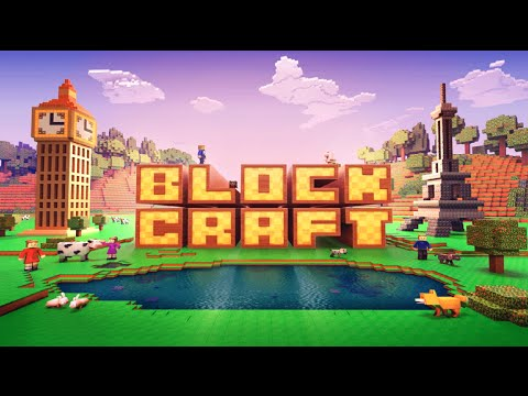 Block craft 3d android gameplay hd youtube for Block craft 3d games