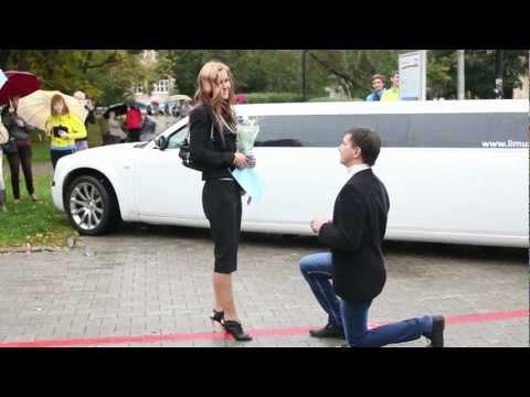 FLASHMOB  Proposal #1 / ФЛЕШМОБ, как самое необычное предложение руки и сердца в Перми! #1