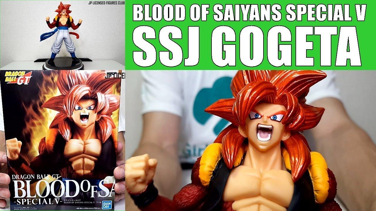 Dragon Ball GT Blood of Saiyan Super Saiyan 4 Gogeta Figure Special V Banpresto