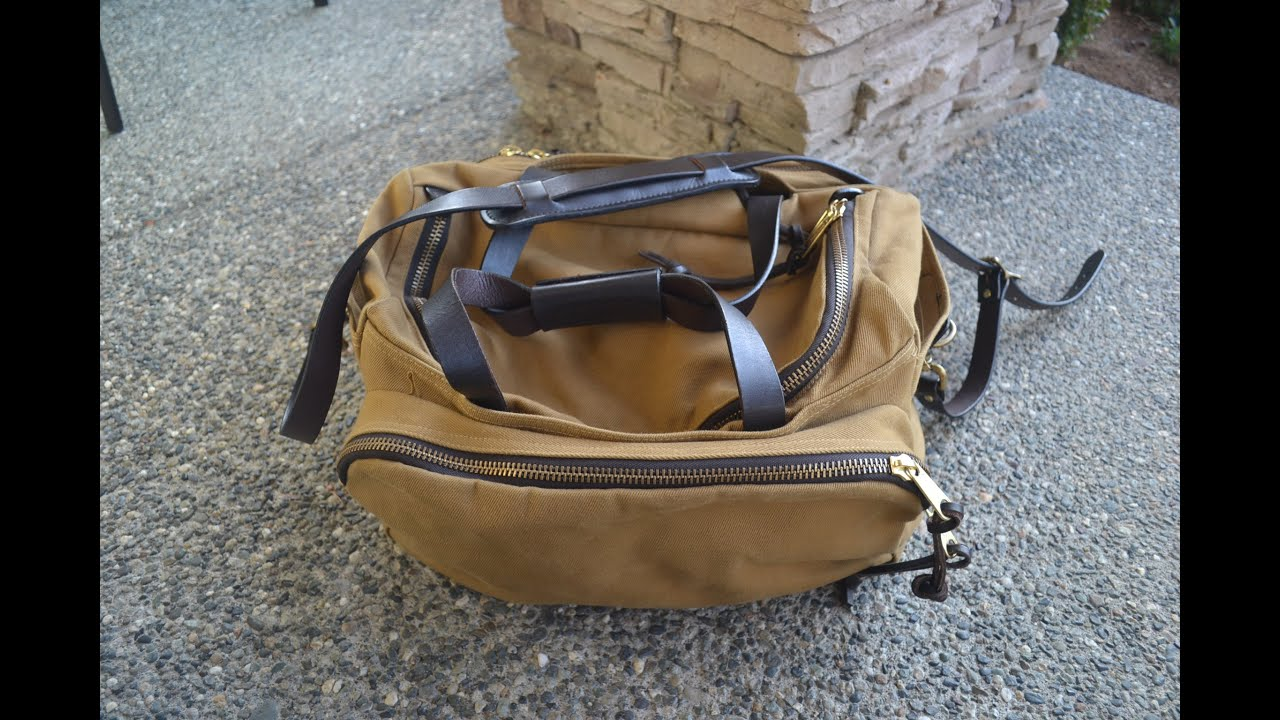 Filson Sportsman Bag Update Review After 16 Months Of Use