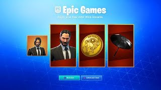 *NEW* HOW TO GET FREE ITEMS IN FORTNITE! (John Wick Free Rewards)