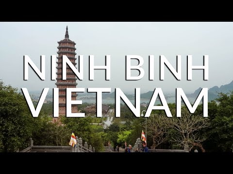 Visiting the LARGEST PAGODA in SOUTHEAST ASIA! (Ninh Binh)   Vietnam Travel Vlog