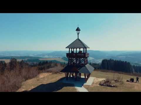 Dji mavic mini | Velká Lhota | Lookout tower | Castle ruins in Starý Jičín