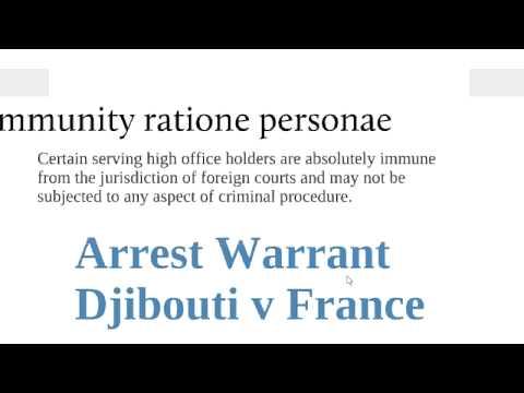 State immunity in Public International Law