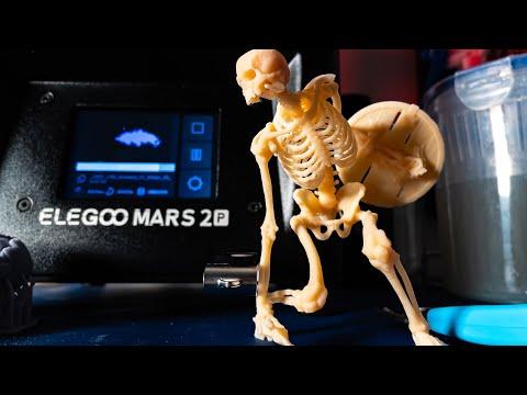 Elegoo Mars 2 Pro $300 Resin 3D Printer Review!