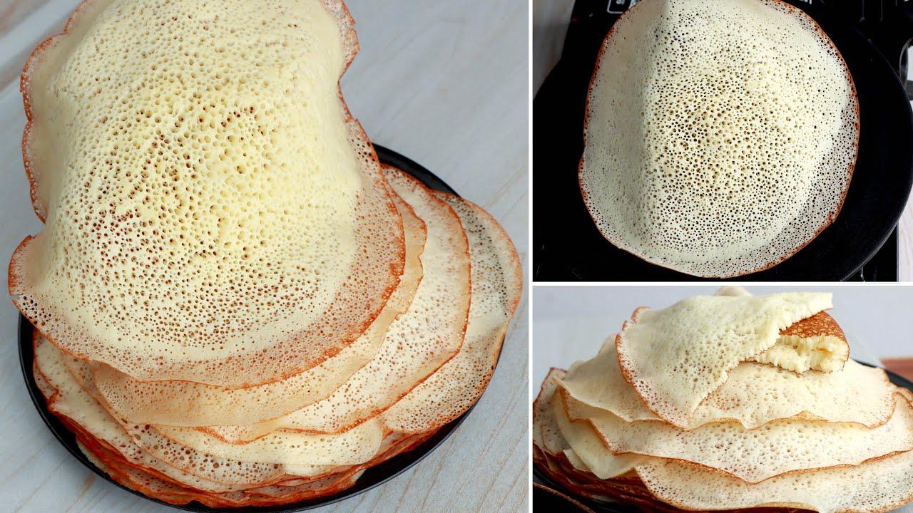 মাত্র ৫ মিনিটে আটার সুপার সফট নাস্তা রেসিপি। Spongi Nasta Recipe, Soft Breakfast Recipe