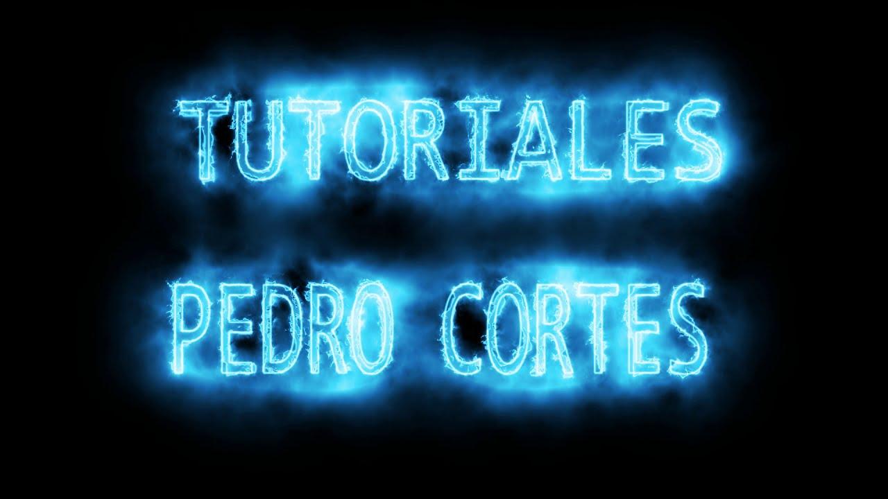 NUEVA INTRO CREADA CON AFTER EFFECTS VIDEO COPILOT SABER