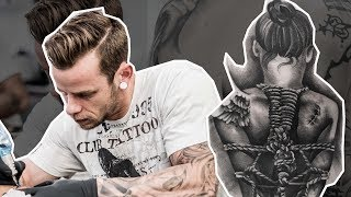 Tattoo Process by Nic Westfall - The Skull Museum