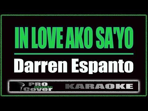 In Love Ako Sa'yo - Darren Espanto (KARAOKE)