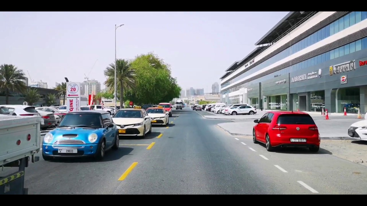 DUBAI - Driving along King Salman Bin Abdulaziz Al Saud Street - YouTube