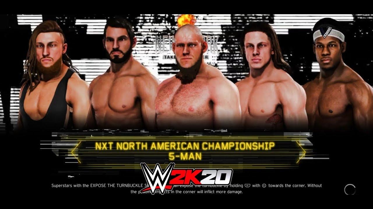 Download WWE 2K20 Pete Dune VS. Matt Riddle VS. Lars Sullivan VS. Johnny Gargano VS. Velveteen Dream
