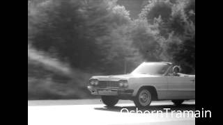 1964 Gulf Gasoline Commercial featuring a 64 Chevy Impala Convertible