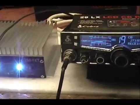 hook up a cb linear amp