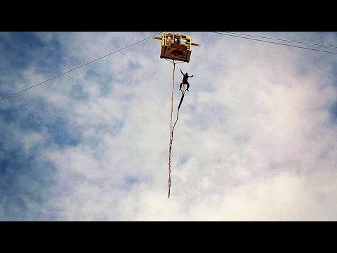 Bungee Jumping in Cusco Peru 120 Meters