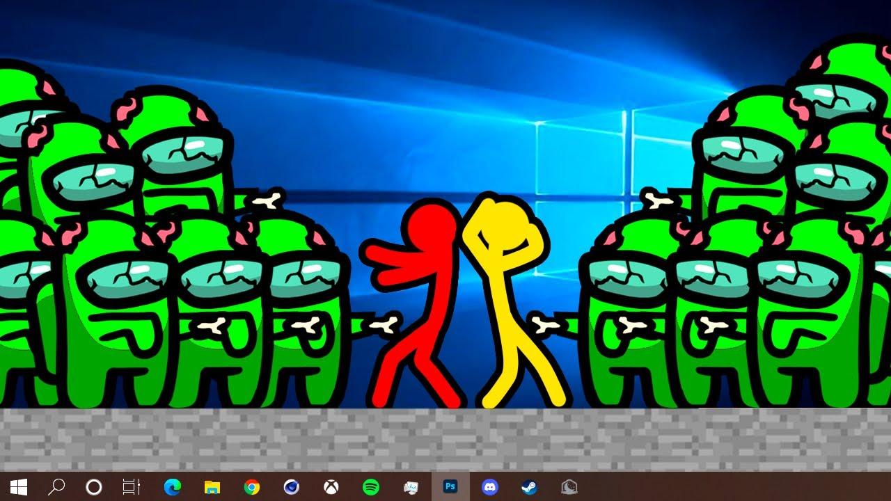 Stickman VS Minecraft: Zombie Invasion 3 - AVM Shorts Animation