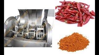 Chili flour grinding machine     info@brightsail-asia.com