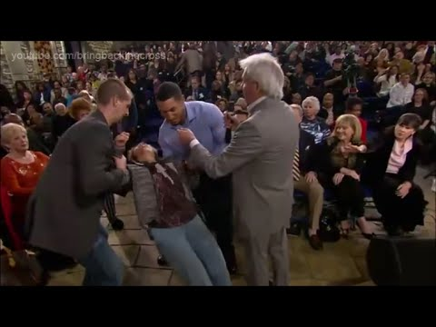 Benny Hinn - The Anointing Falls on Audience