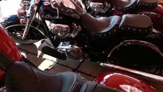 2014 Indian motorcycle review at bikes blues and BBQ