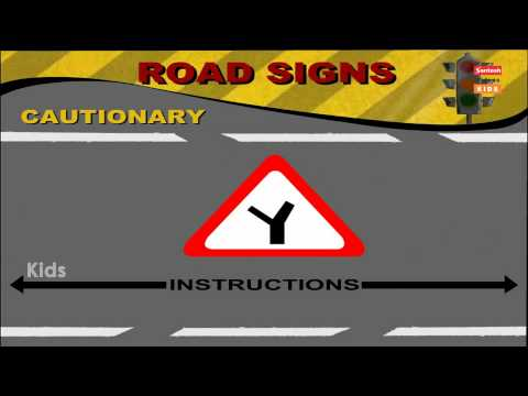 road-signs-of-cautionary-part-1-||-traffic-rules-||-english-version