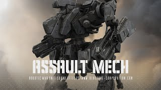 Robot Sound Effects - Assault Mech - Robotic War Unit Sound Effects Demo