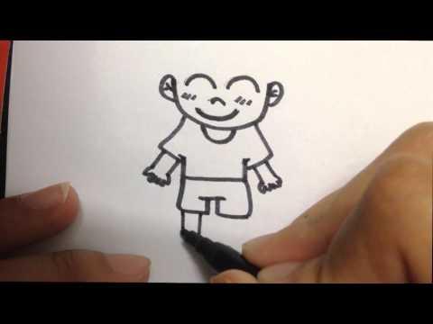วิดีโอสอนการวาดภาพกาตูนอย่างง่ายๆ