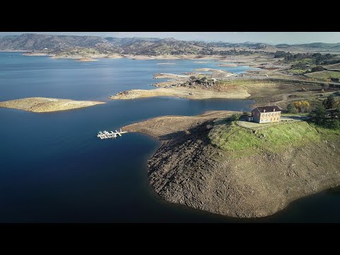 See Where Millerton Lake's Water Levels Are At In This Drone Video