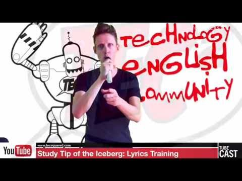 Study Tip of the Iceberg: Lyrics Training