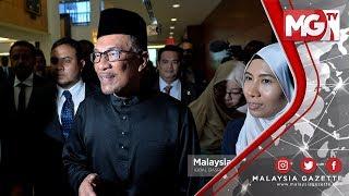 """TERKINI : """"Mahathir Orang Yang Pertama Yang Saya Lapor"""" - Anwar Ibrahim"""