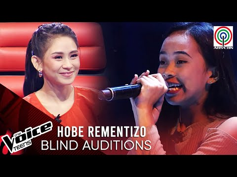 Hobe Rementizo - One and Only | Blind Audition | The Voice Teens Philippines 2020