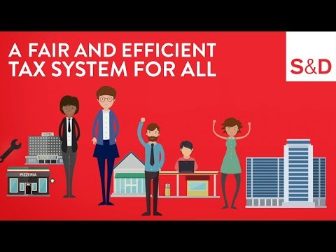A Fair And Efficient Tax System For All