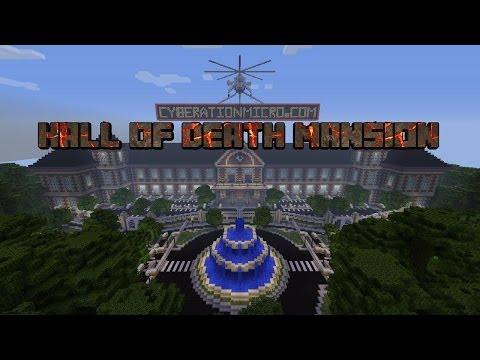 Minecraft Xbox 360 MC Team PVP DeathMatch Hall Of Death Mansion