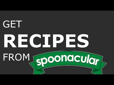 How to use the Spoonacular API thumbnail