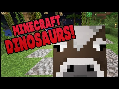 Minecraft Dinosaurs! || 490 || Missing Mocking Cow??