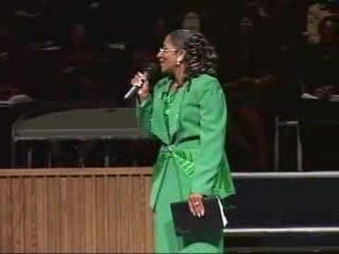 Michelle Briscoe Women's Day Speaker '07 @ CMBC Dallas,Tx