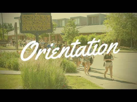 Orientation at SVC