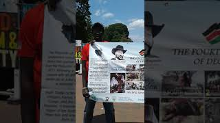 Counter demonstration against NSF and SPLM/A-IO of March 25th, 2019, by NSF and May 16, 2019, by IO