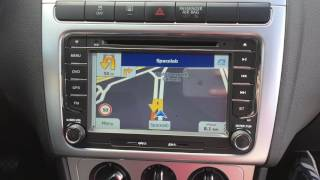 """7"""" Navigatie RNS 510 Look Volkswagen"""