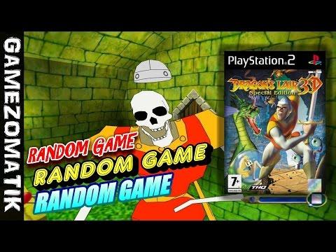 DRAGONS LAIR 3D GAMEPLAY PS2 - RANDOM GAME