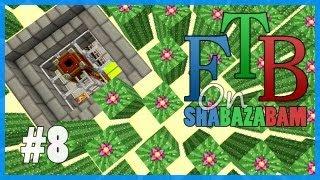 Minecraft FTB - Ep.8 - Forestry Wheat Farm & Cactus Farm