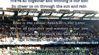 Stamford Bridge sings Chelsea FC