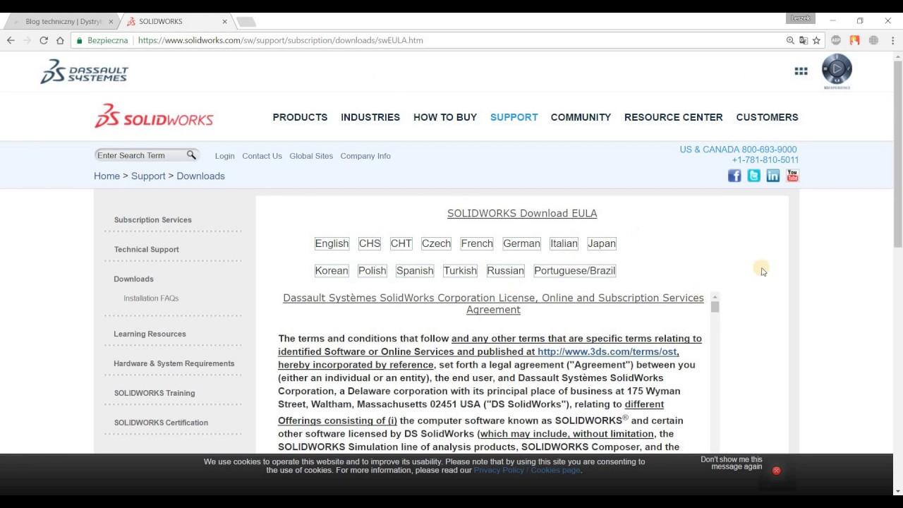 Jak pobrać SOLIDWORKS Service Pack  How to download SOLIDWORKS Service Pack