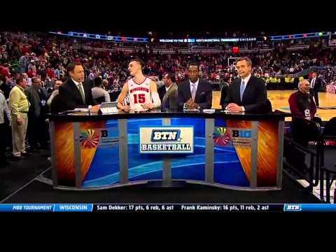 Michigan vs  Wisconsin   2015 Big Ten Men