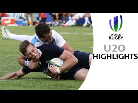HIGHLIGHTS: Argentina 6-29 Scotland at World Rugby U20s
