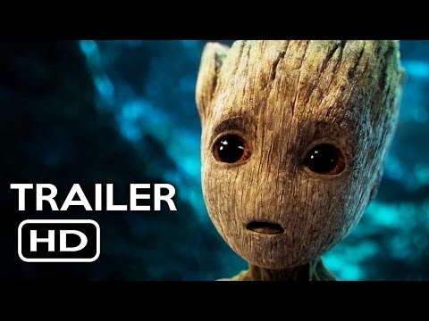 Guardians of the Galaxy Vol. 2 Official Trailer #2 (2017) Chris Pratt Sci-Fi Action Movie HD